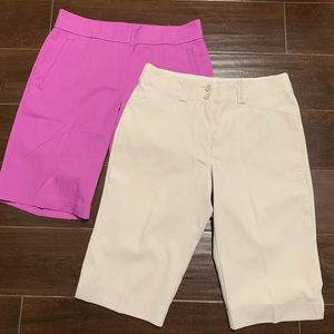 Lot of 2 golf shorts 4